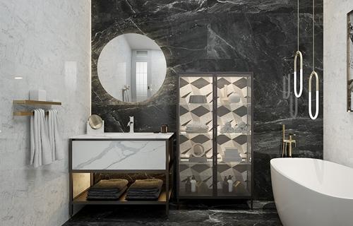 威海卫浴柜设计